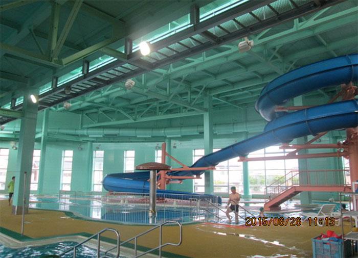 温水プール改修工事